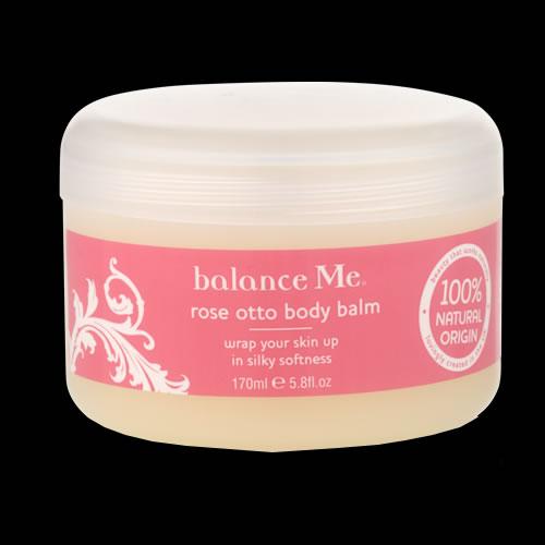 Image of balance me Rose Otto Body Balm 170ml
