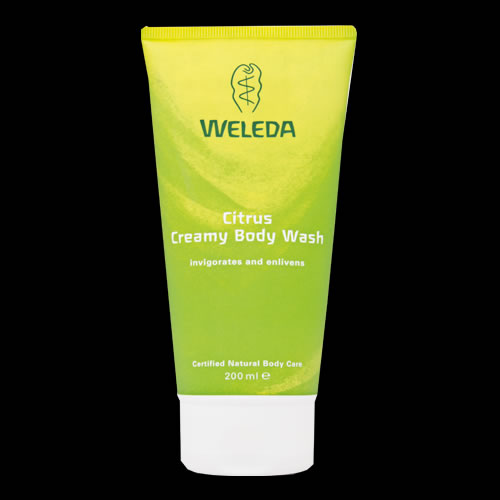 Image of Weleda Citrus Creamy Body Wash 200ml