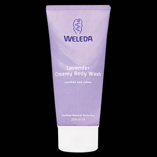Image of Weleda Lavender Creamy Body Wash 200ml