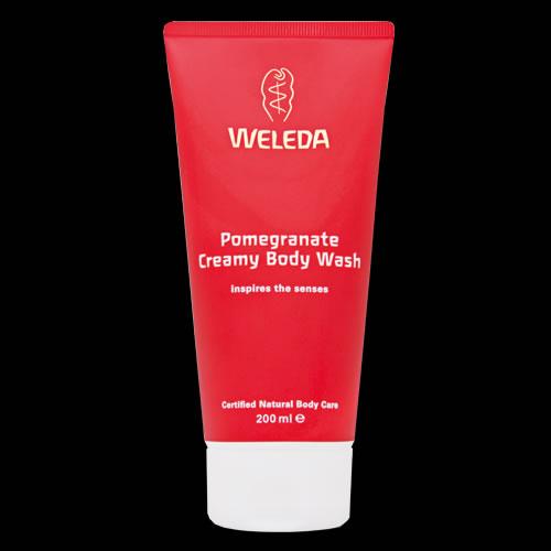 Image of Weleda Pomegranate Creamy Body Wash 200ml