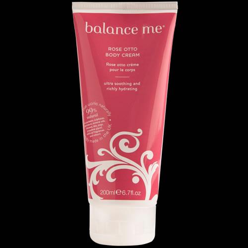 Image of balance me Rose Otto Body Cream 200ml