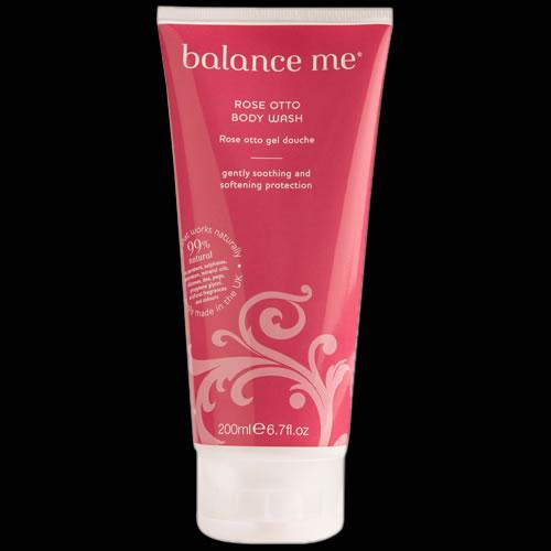 Image of balance me Rose Otto Body Wash 200ml