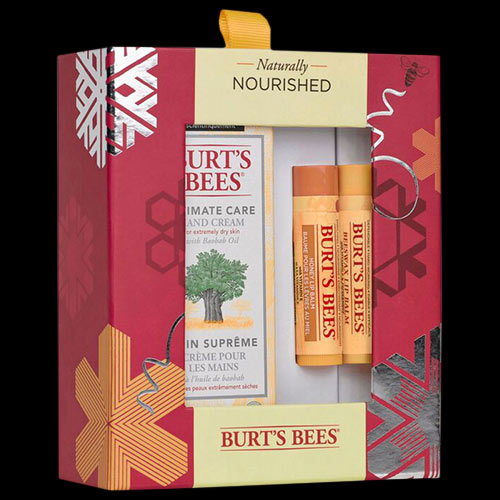 Image of Burt's Bees Naturally Nourished Baobab Edition Gift Set