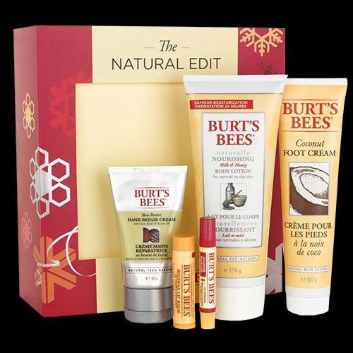 Image of Burt's Bees The Natural Edit Gift Set