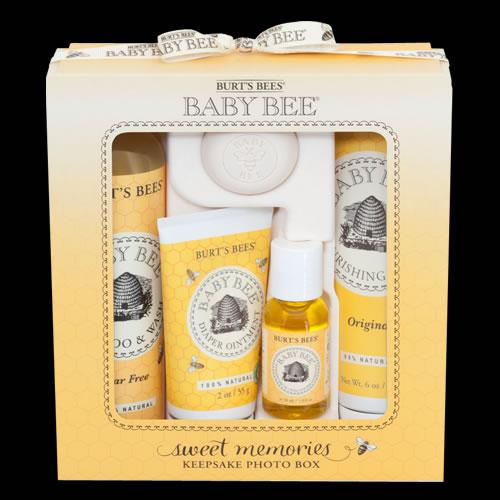Image of Burt's Bees Baby Bee Sweet Memories Gift Set