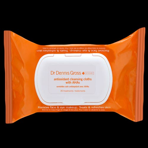 Image of Dr. Dennis Gross Skincare Antioxidant Cleansing Cloths 30 Applications