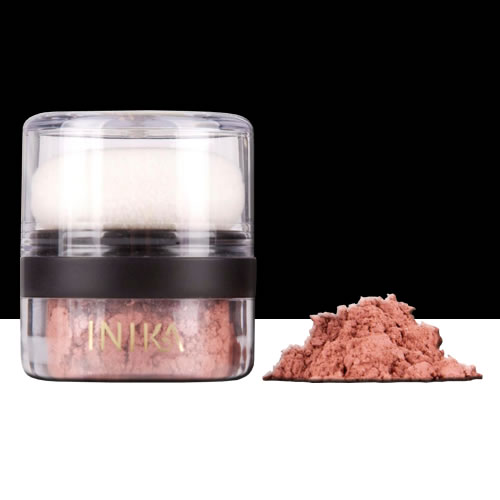 Image of Inika Mineral Blush Puff Pot - Rosy Glow 2g