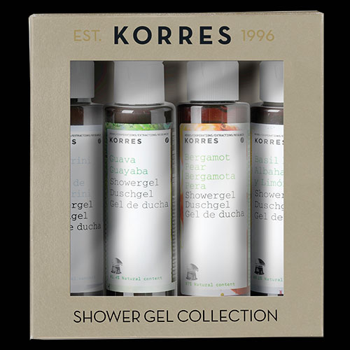 Image of Korres Mini Shower Gel Gift Set