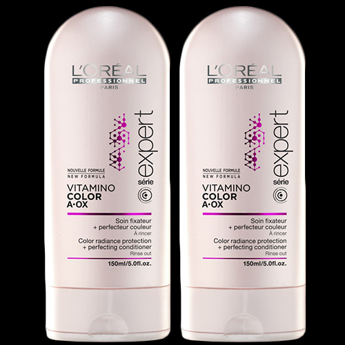 Image of L'Oréal Professionnel Vitamino Colour A-OX Protecting Conditioner 150ml Double