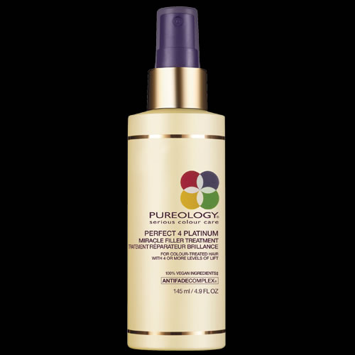 Image of Pureology Perfect 4 Platinum Miracle Filler Treatment 145ml