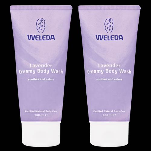 Image of Weleda Lavender Creamy Body Wash Duo